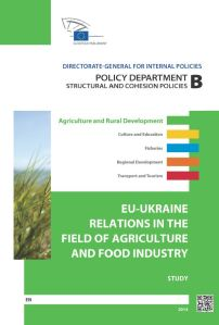 EU-Ukraine Relations in the Field of Agriculture and Food Industry