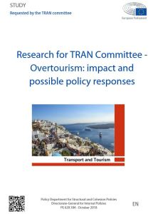 Overtourism: impact and possible policy responses