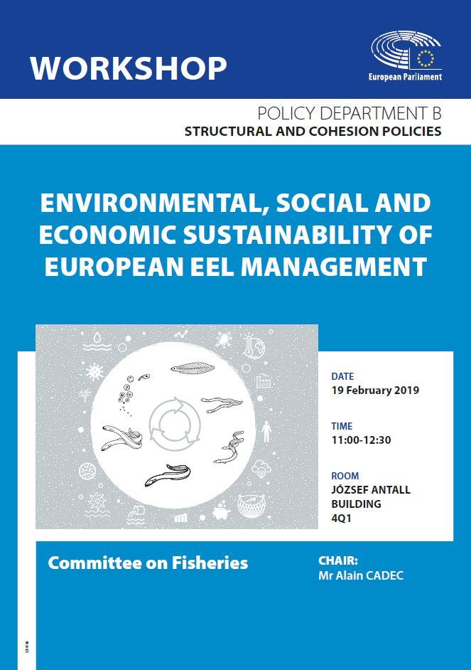 PECH workshop: Environmental, social and economic sustainability of European eel management