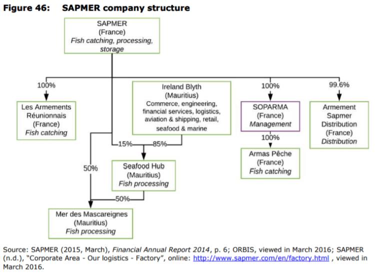 Figure 46: SAPMER company structure