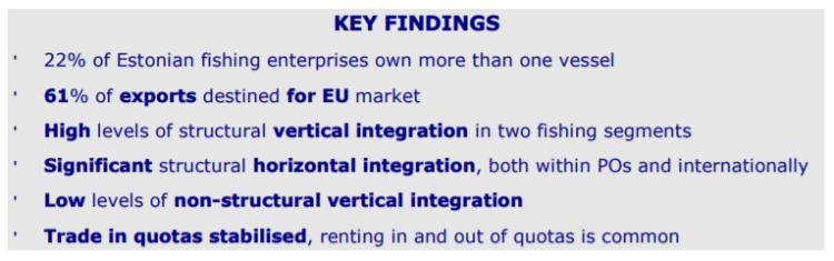 Key findings - Estonia