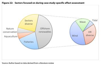 Figure 22: Sectors focused on during case study-specific effect assessment