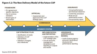 Figure 5.2: The New Delivery Model of the future CAP