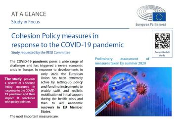At a glance: Cohesion Policy Measures in Response to the COVID-19 Pandemic