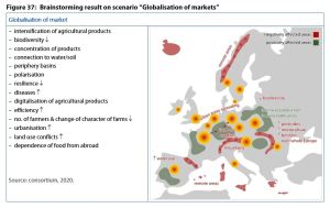 "Brainstorming result on scenario ""Globalisation of markets"""