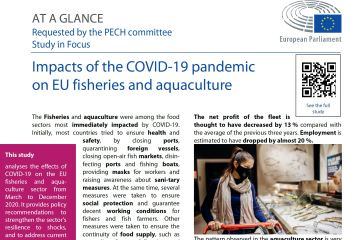 Impacts of the COVID-19 pandemic on EU fisheries and aquaculture