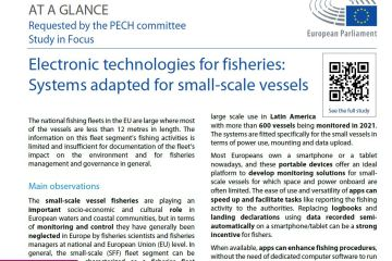 Electronic technologies for fisheries: Systems adapted for small-scale vessels
