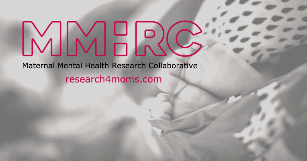 Maternal Mental Health Research Collaborative: Peer-led, patient-centered.