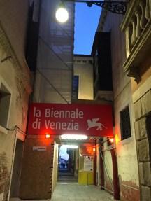 la Biennale di Venezia Headquarters, Jan. 2016, PHOTO © SARAH KLEINMAN 2016