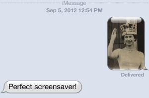 Texting Dee