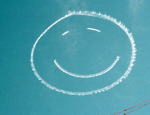 Smiley Face in the Sky