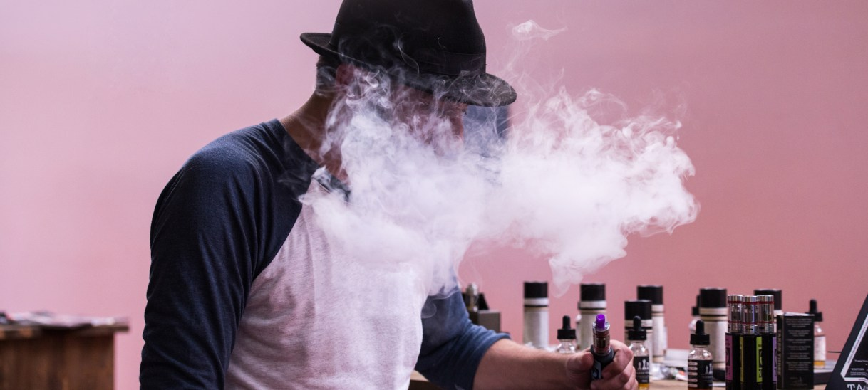 Half of Canadians Would Not Date Someone Who Vapes