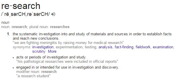 researchdef