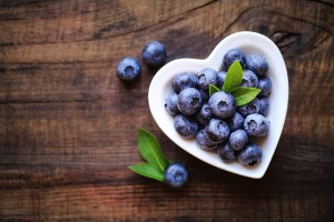 blueberries bone health