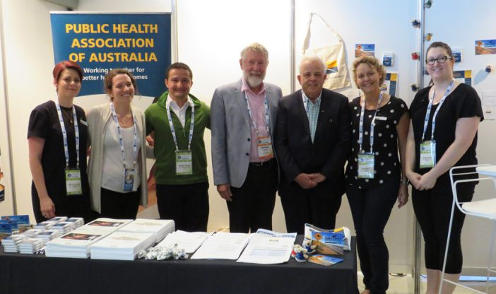 David Templeman, President of the Public Health Association of Australia