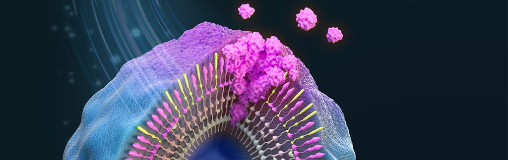 animation of a cancerous cell