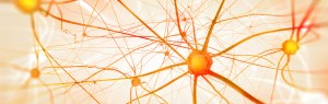 graphic of a neuronal network