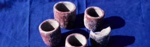 ceremonial cups uncovered by archaeological excavation