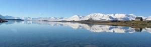 The MOA telescope is located at Lake Tekapo in New Zealand.