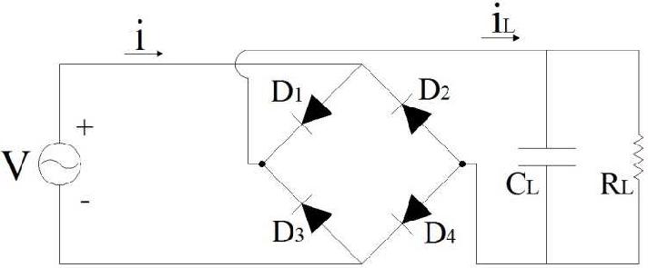 Schematic Diagram Of Full-wave Bridge Rectifier