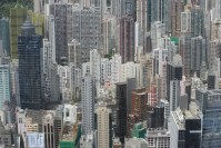 Residential sales in Hong Kong up 45% month on month, prices down