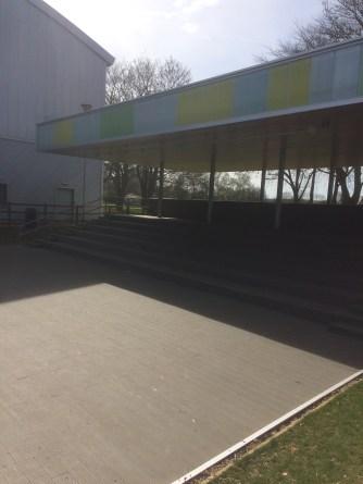 UHS outdoor theatre