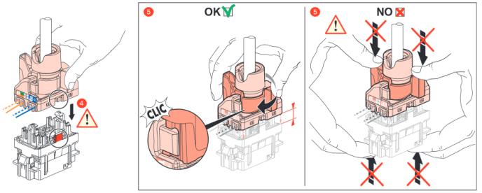Câblage RJ45 : Serrage du connecteur RJ45