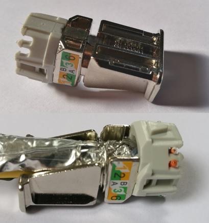 Legrand Connecteur 6A LCS3 Emplacement Drain