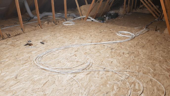 Vincent - Passage de câbles réseau grade 3TV #1