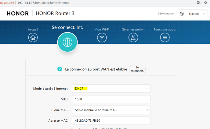 Honor-router-3-Interface-Web-Wan