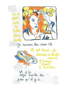 Journal, Julie Delporte, extrait 04