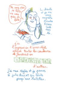 Journal, Julie Delporte, extrait 11