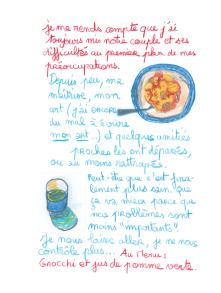 Journal, Julie Delporte, extrait 16