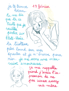 Journal, Julie Delporte, extrait 19