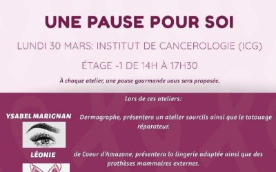Atelier : Une pause pour soi – 30/03/2020