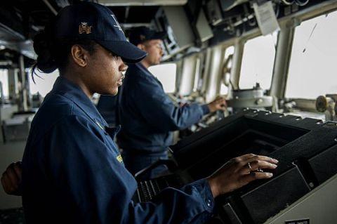 La timonerie du USS Donald Cook