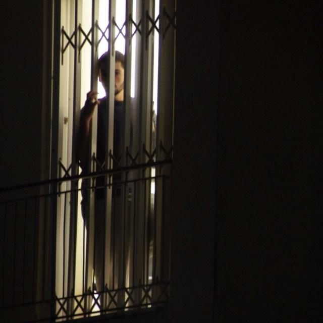 Nikos Romanos, jeune prisonnier de 21 ans en grève de la faim et ami d'enfance d'Alexis Grigoropoulos