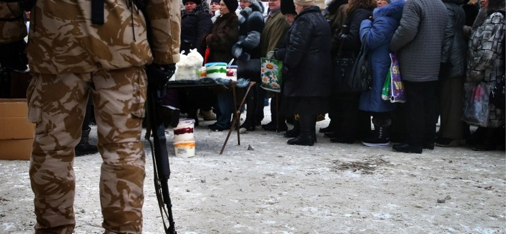 Kiev demande de l'aide à l'armée russe