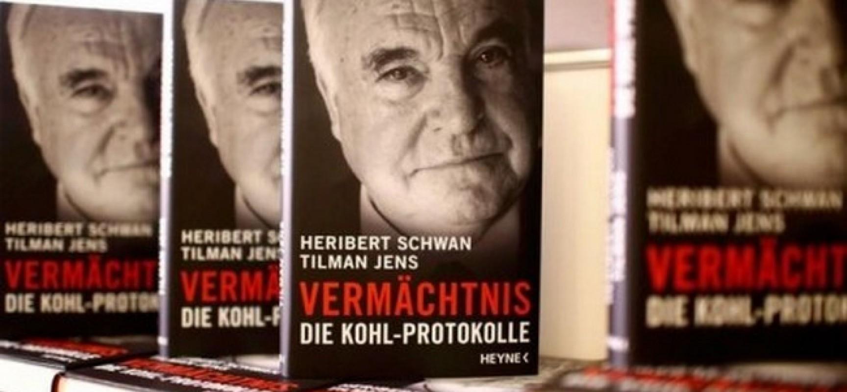 Les Mémoires de l'ancien chancelier allemand Helmut Kohl pourraient enterrer la carrière de Merkel
