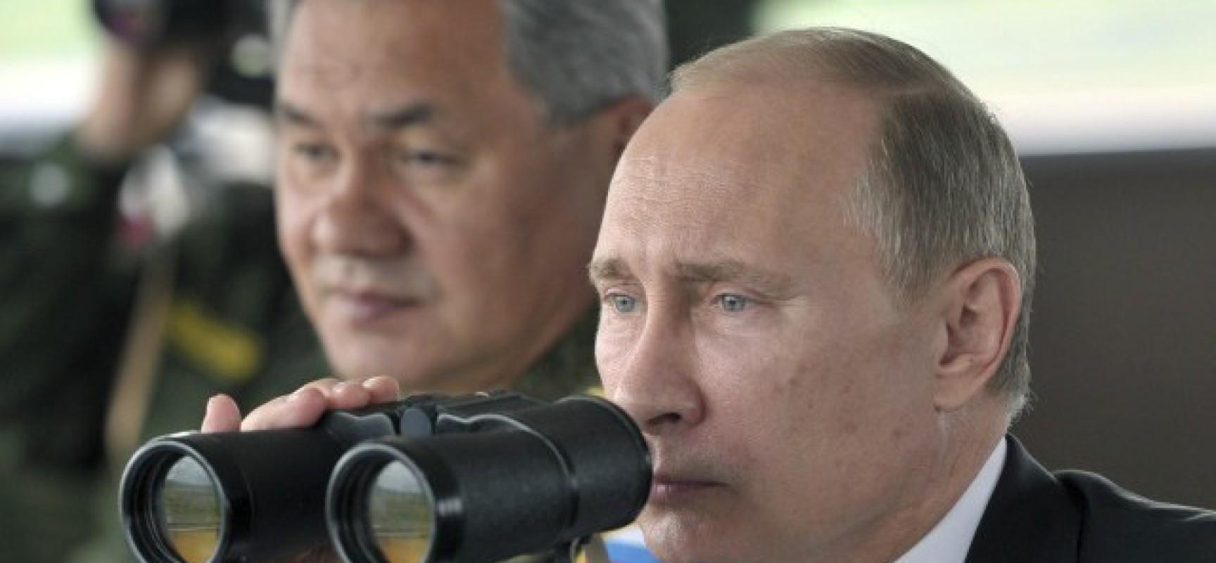 Syrie : Vladimir Poutine expédie un sous-marin nucléaire géant pour avertir Washington