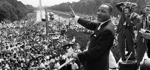 """(Discours le plus célèbre de Martin Luther King """"I have a dream"""", prononcé le le 28 août 1963, devant le Lincoln Memorial, à Washington, D.C)."""