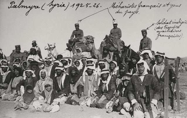 Quand Damas était occupée par l'armée française...