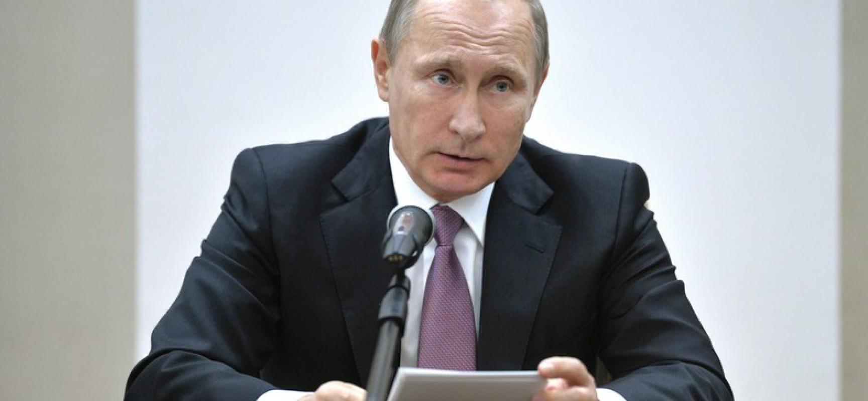 Poutine : le crash de l'avion russe est un coup dans le dos (MAJ)