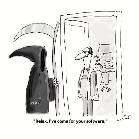 Relax, je viens pour ton  logiciel