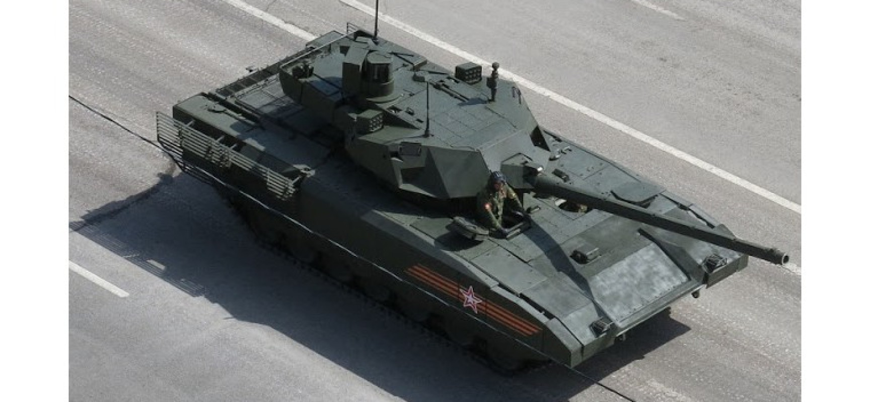 Voici pourquoi l'OTAN a peur du nouveau T-14 Armata russe
