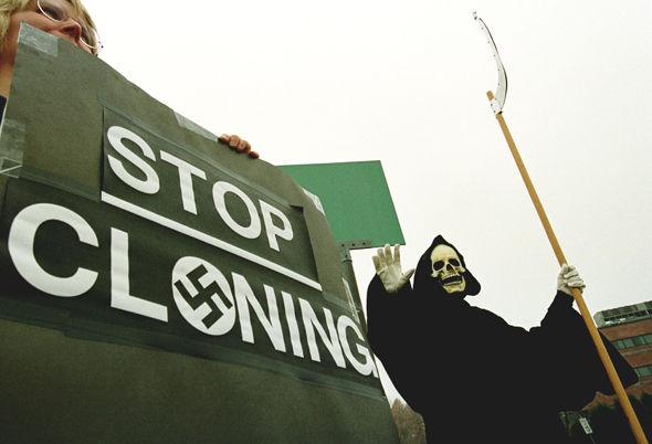 Photo : Les questions d'éthique ont augmenté sur le clonage