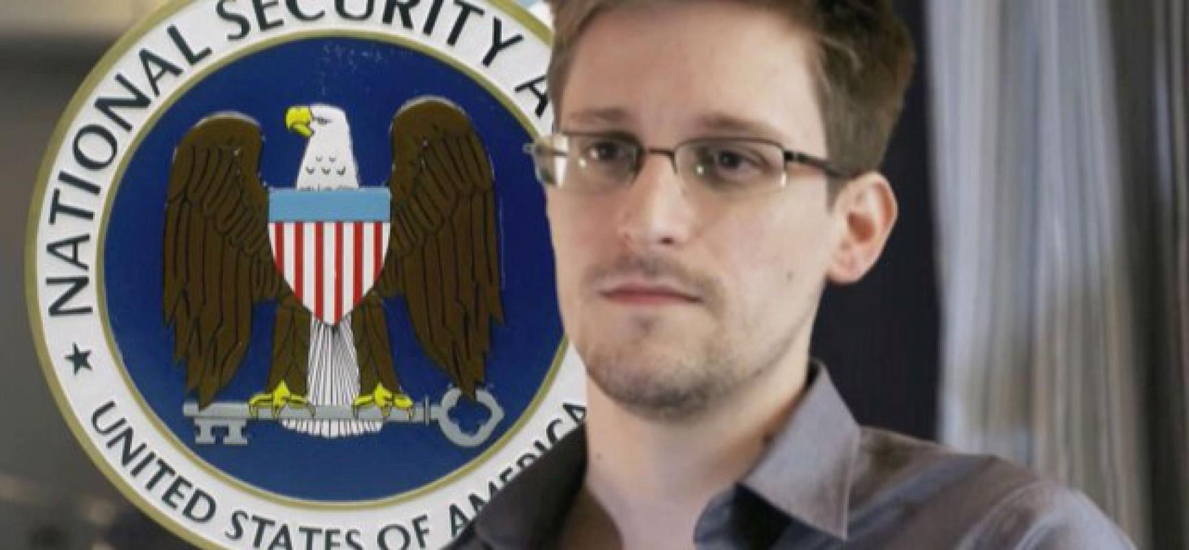 Pour qui roule Snowden?