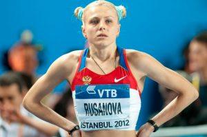 Yulia Stepanova née Rusanova