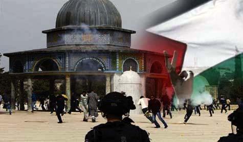 Des colons sionistes attaquent la mosquée Al-Aqsa