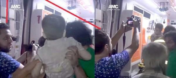 C'est le photographe de l'AMC Mahmoud Raslan qui a remis la photo de la mise en scène montrant Omran aux médias occidentaux avides de sensationnalisme.